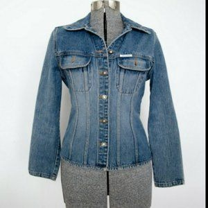 Guess Jeans Vintage Jean Jacket - No Size Tag-